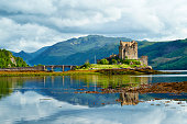 Eilean Donan Castle Summer Scenic