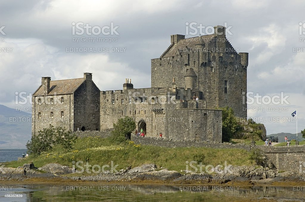 Eilean Donan royalty-free stock photo
