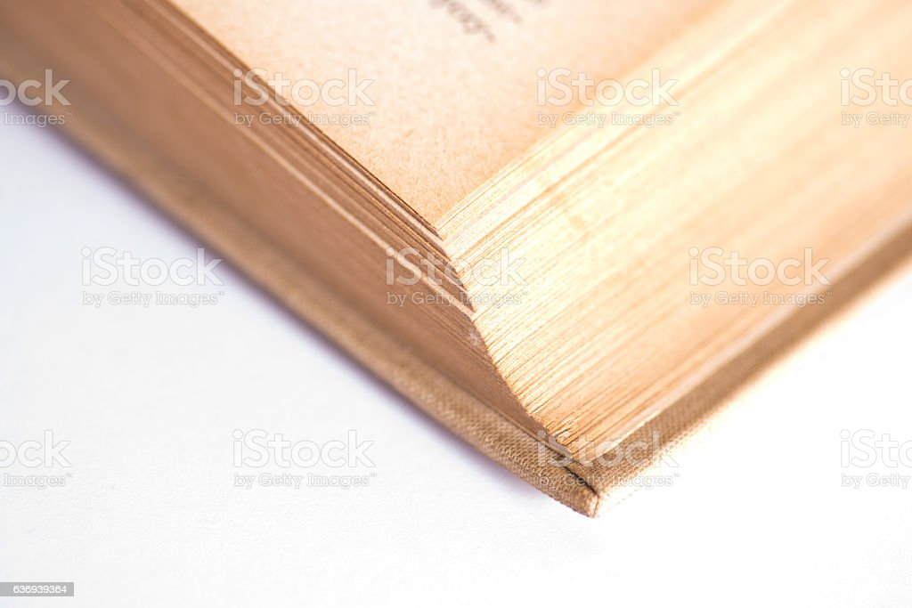 Ein altes Buch stock photo