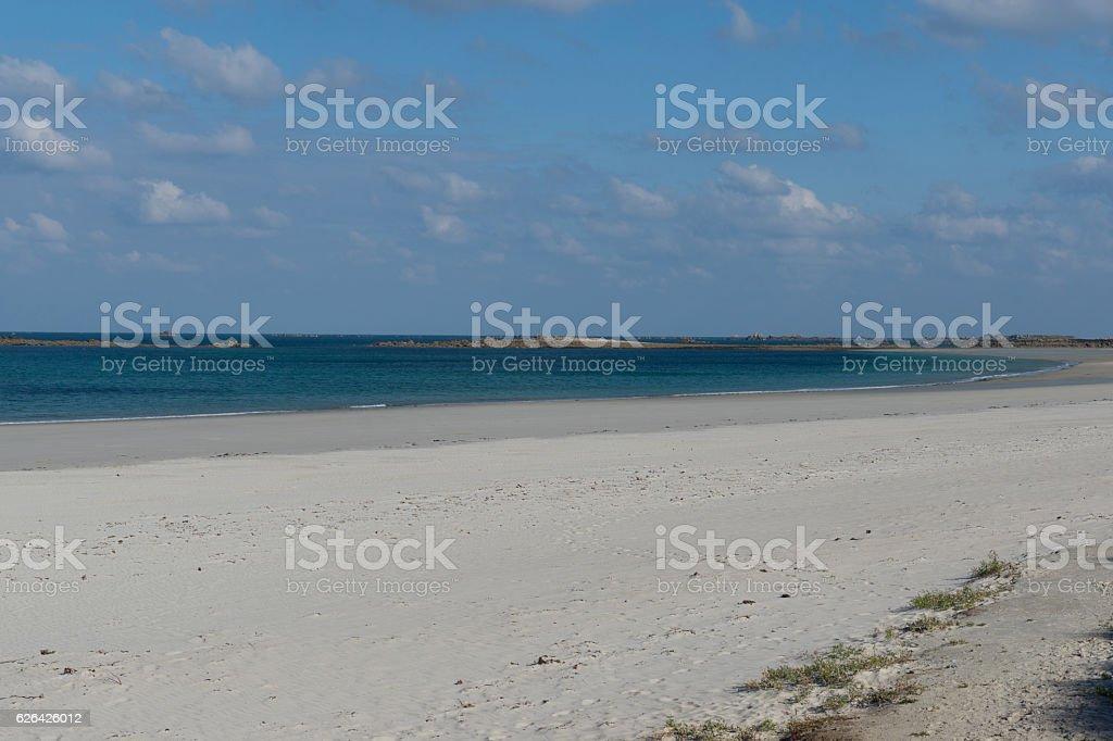 Ein Blick auf einen Strand stock photo