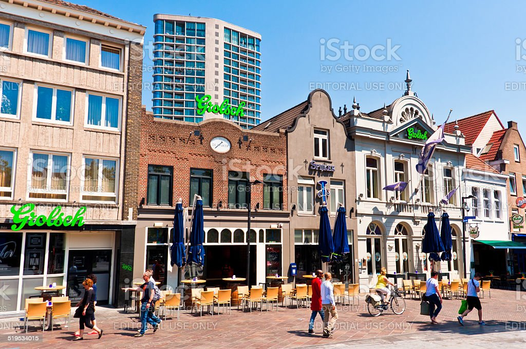 Eindhoven City Center stock photo