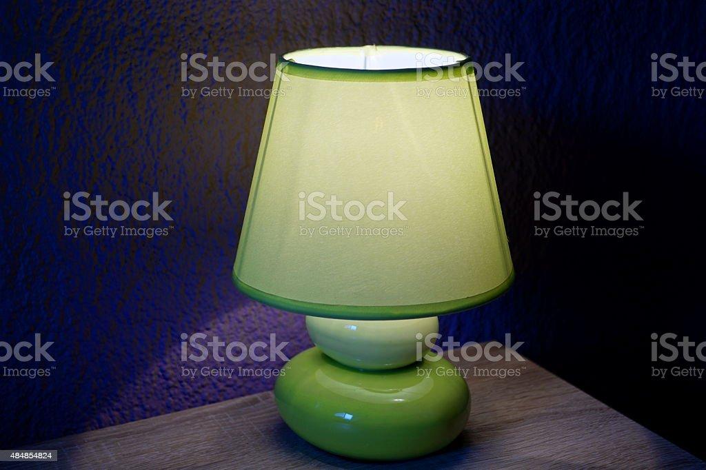 Eine Lampe stock photo