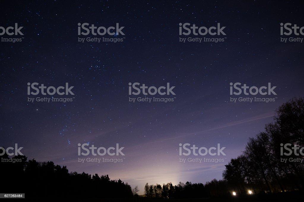 Eine Nacht in den Niederlanden stock photo