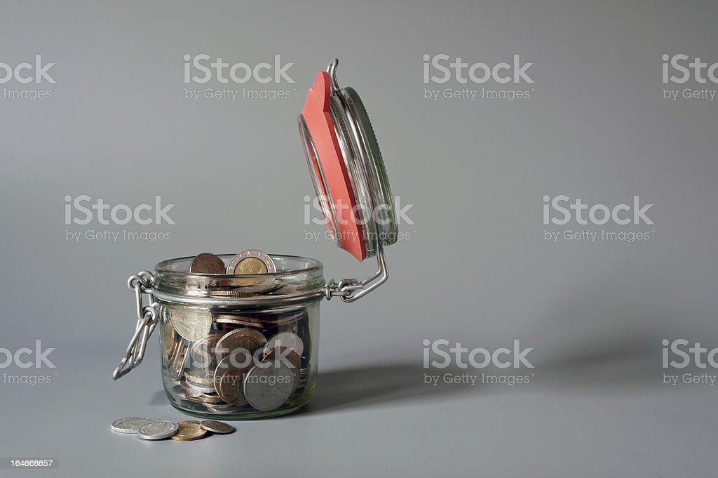 einmachgeld stock photo