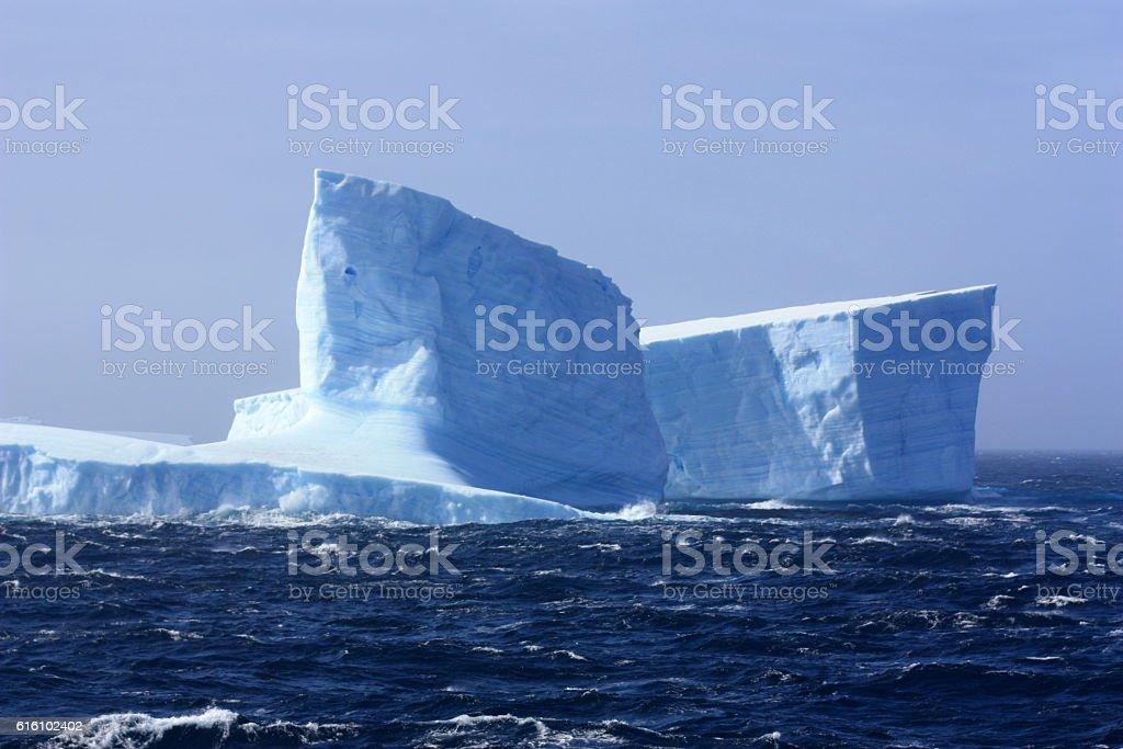 Eisberg Antarktis stock photo