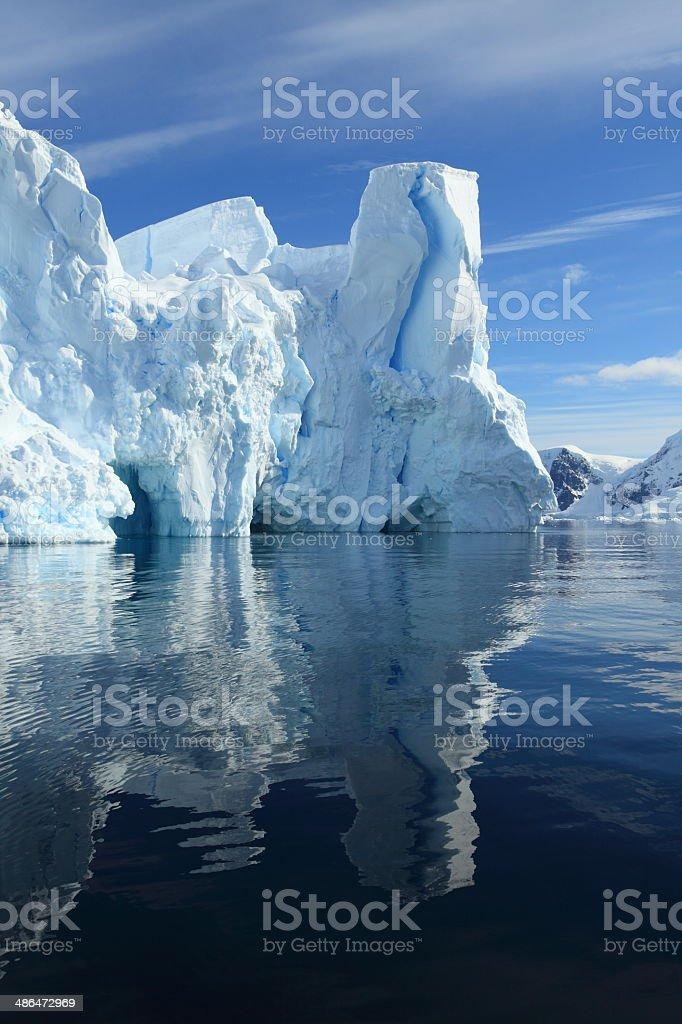 Eisberge und Landschaften der Antarktis Arktis stock photo