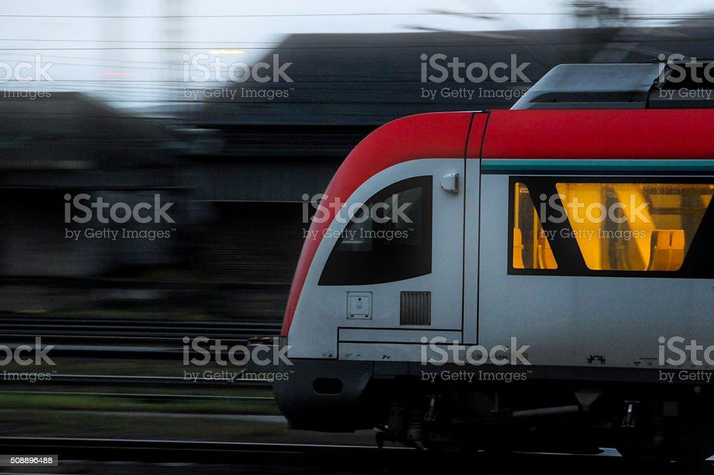 Eisenbahn stock photo