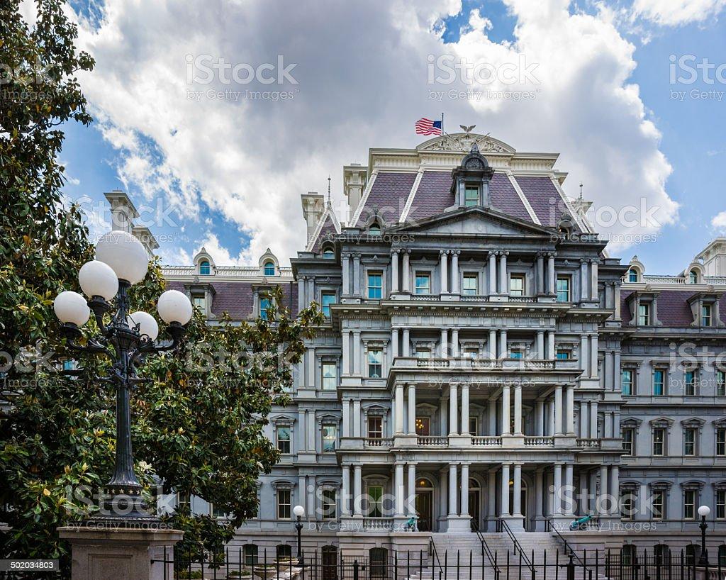 Eisenhower Executive Office Building in Washington, D.C. USA royalty-free stock photo