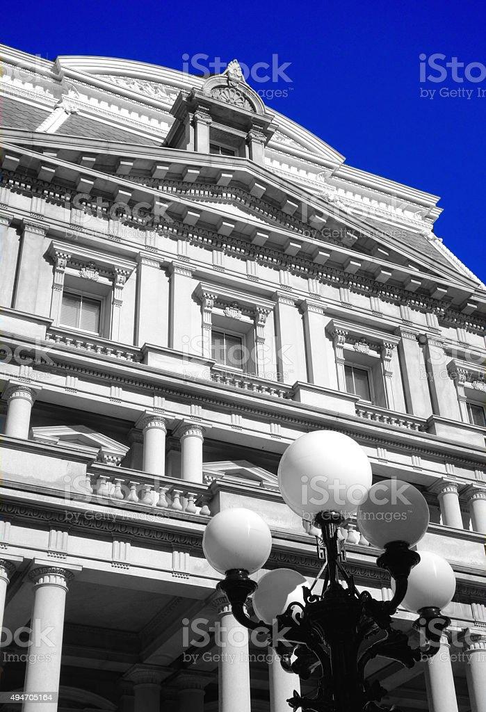 Eisenhower Executive Office Building stock photo