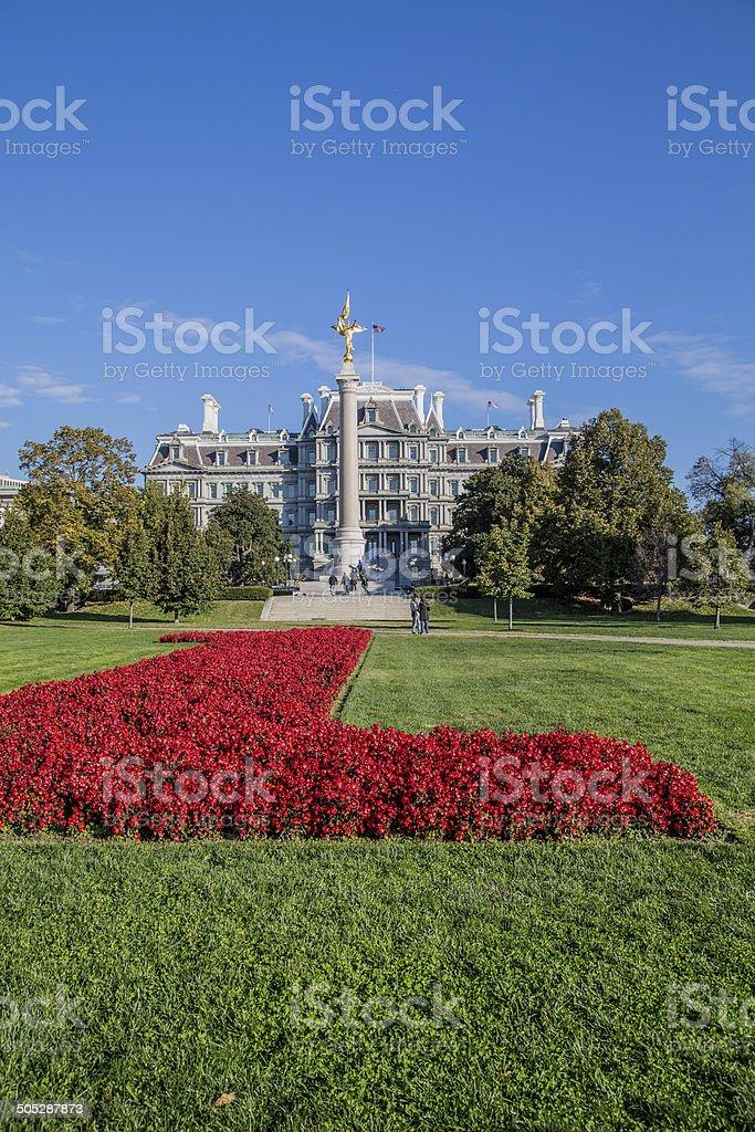 Eisenhower Executive Office Building, washington dc stock photo