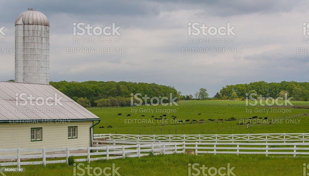 Eisenhower National Historic Site - Pennsylvania stock photo