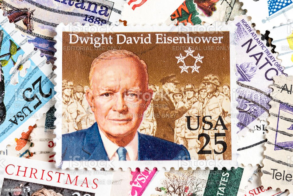 Eisenhower stock photo