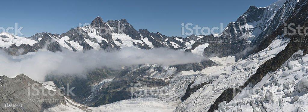 Eismeer Glacier royalty-free stock photo