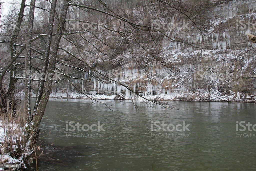 Eiszapfen stock photo