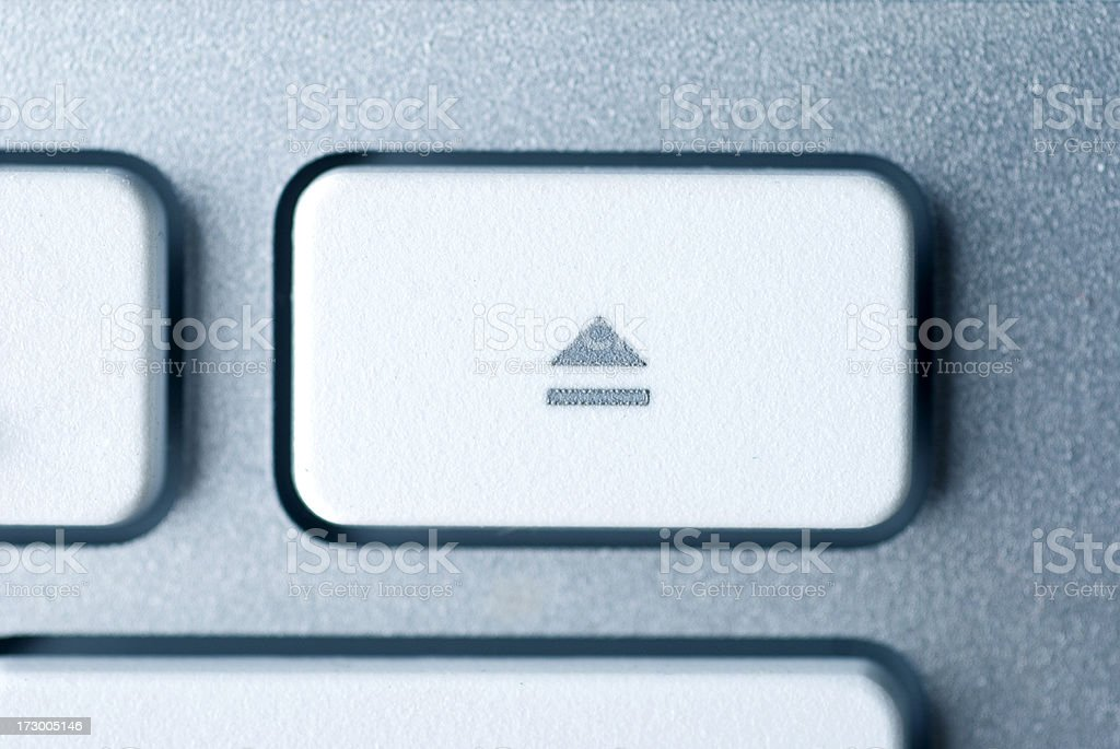eject key stock photo
