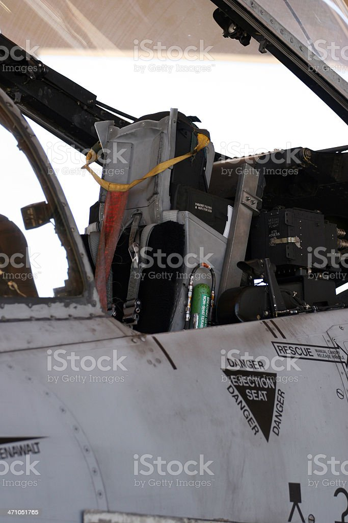 Ejector Seat stock photo