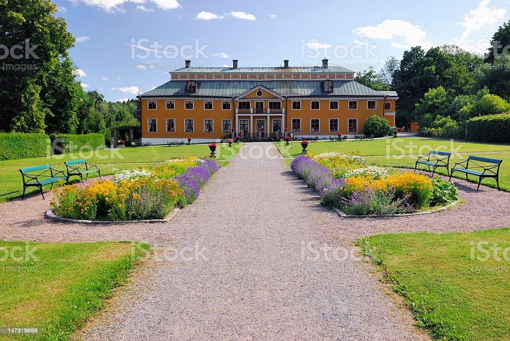 Ekebyhovs manor house royalty-free stock photo