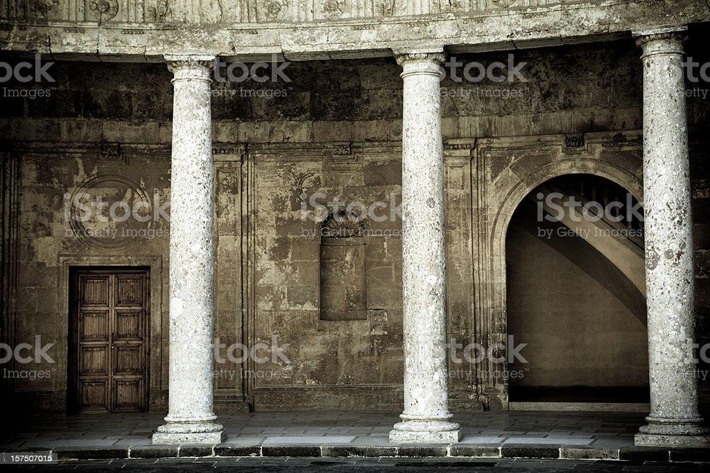 El Alhambra royalty-free stock photo