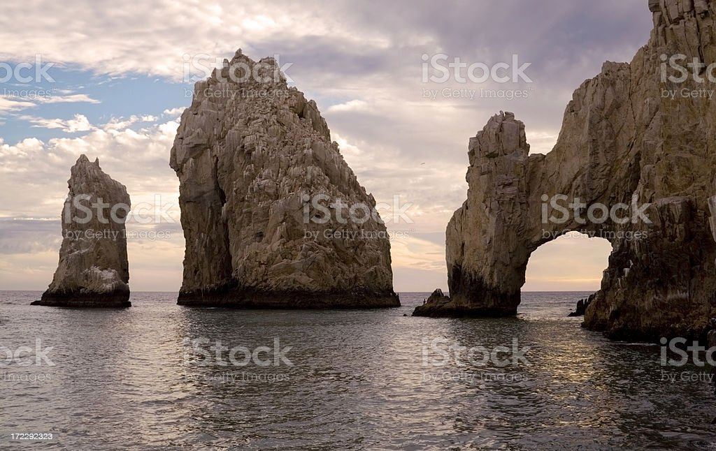 El Arco Just Before Sunset royalty-free stock photo