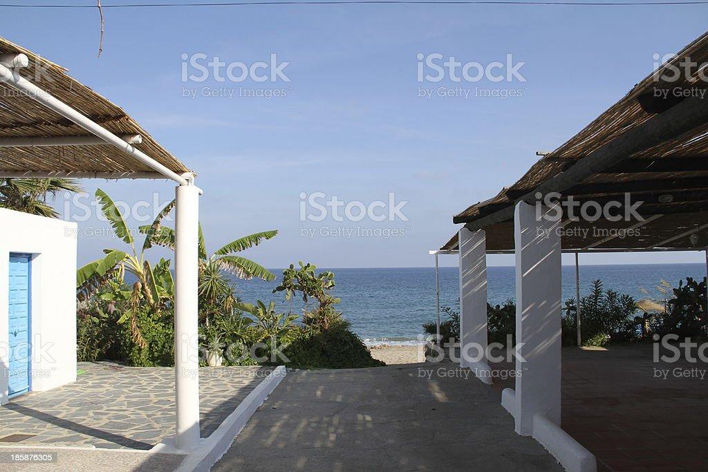 El Cantal stock photo