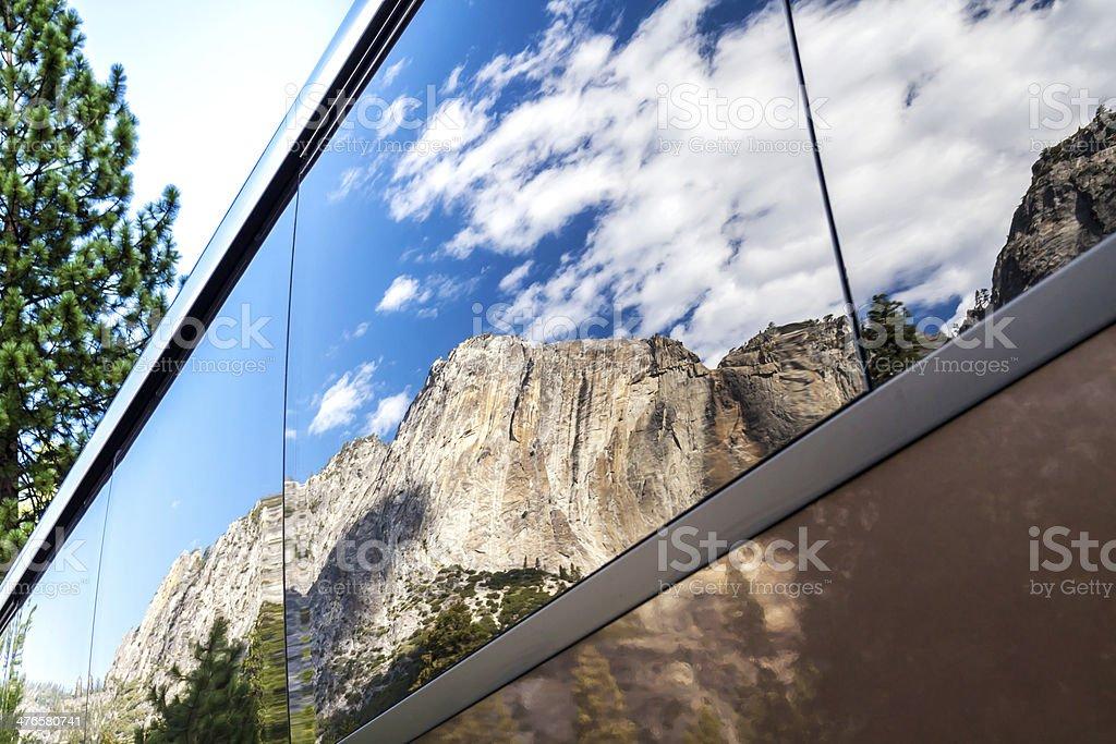 El Capitan Reflection royalty-free stock photo