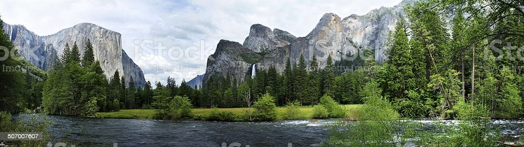 El Capitan Yosemite Nation Park stock photo