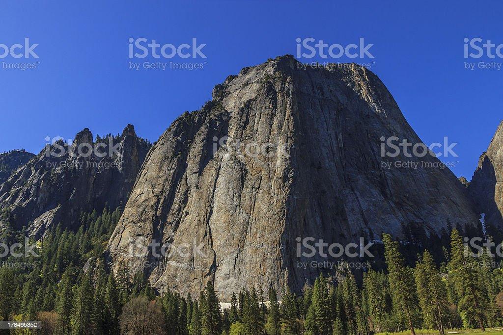 El Capitan, Yosemite National Park, CA. royalty-free stock photo