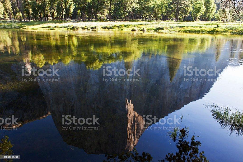 El Capitan - Yosemite National Park stock photo