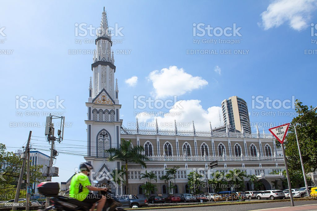 El Carmen Church / Panama City stock photo