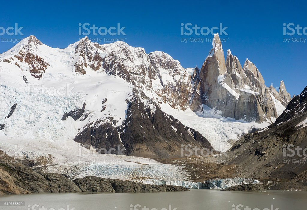 El Chalten, Argentina stock photo
