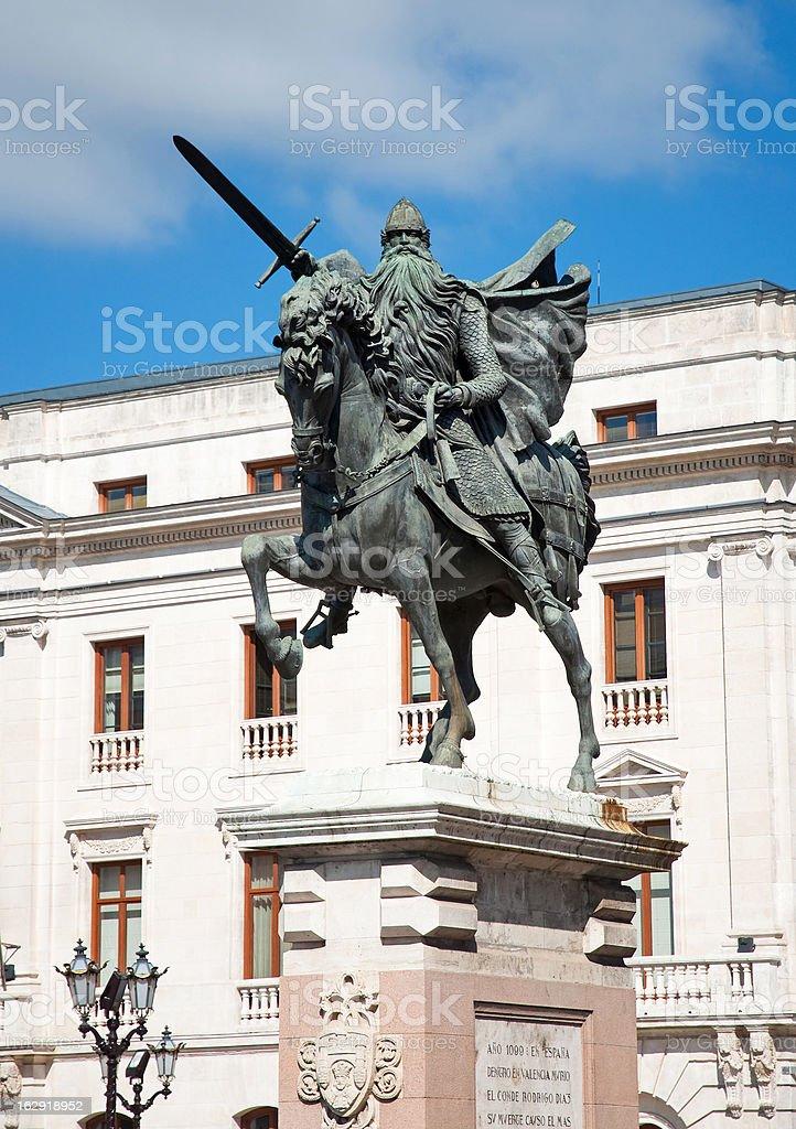El Cid stock photo