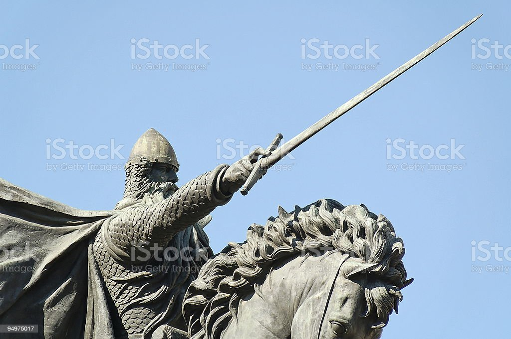 El Cid royalty-free stock photo