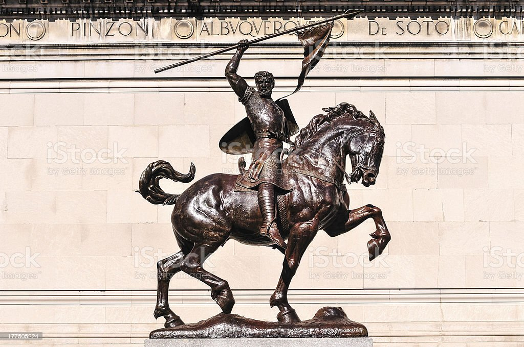 El Cid Statue royalty-free stock photo