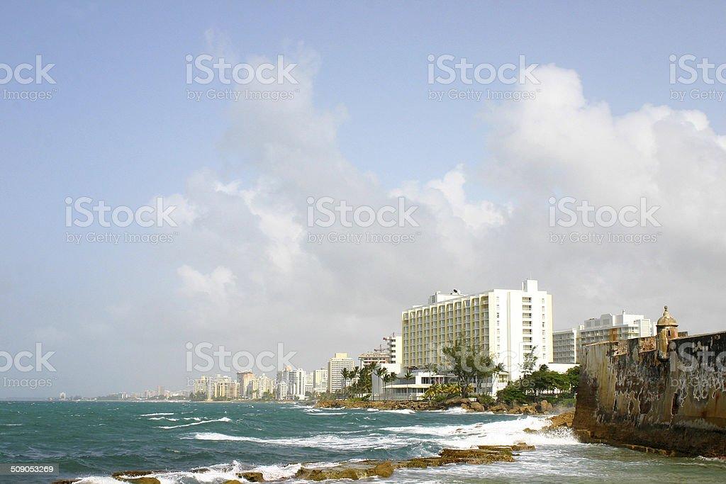 El Condado, San Juan, Puerto Rico stock photo