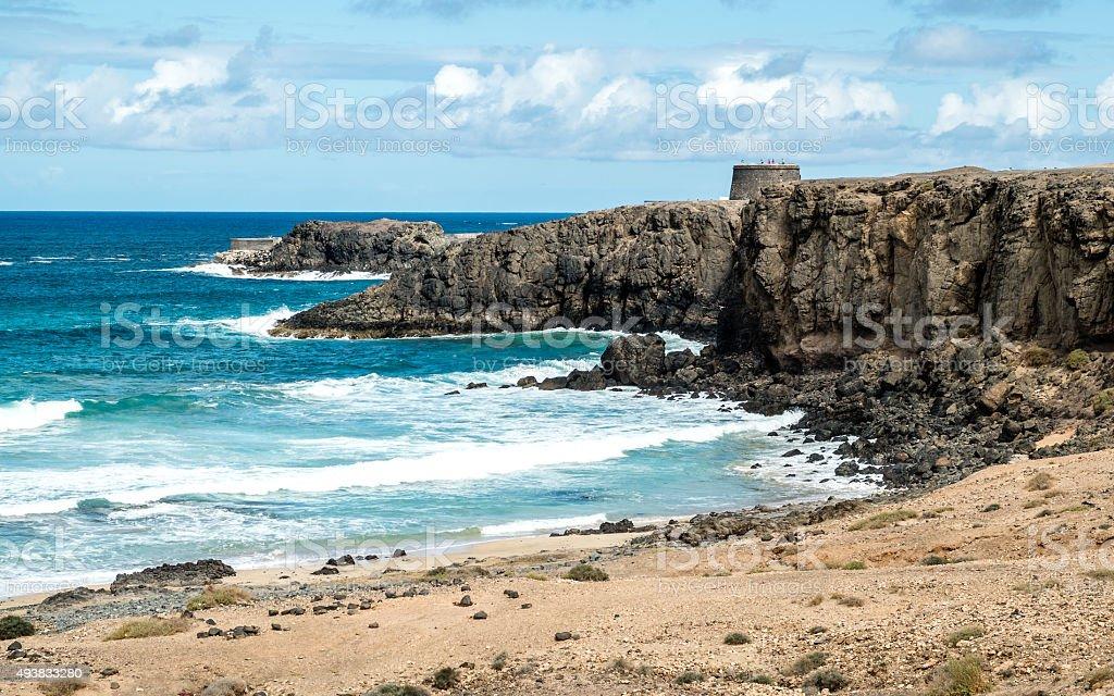 El cotillo beach stock photo