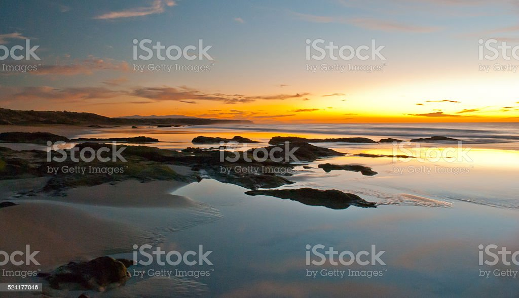 El Cotillo sunsets stock photo