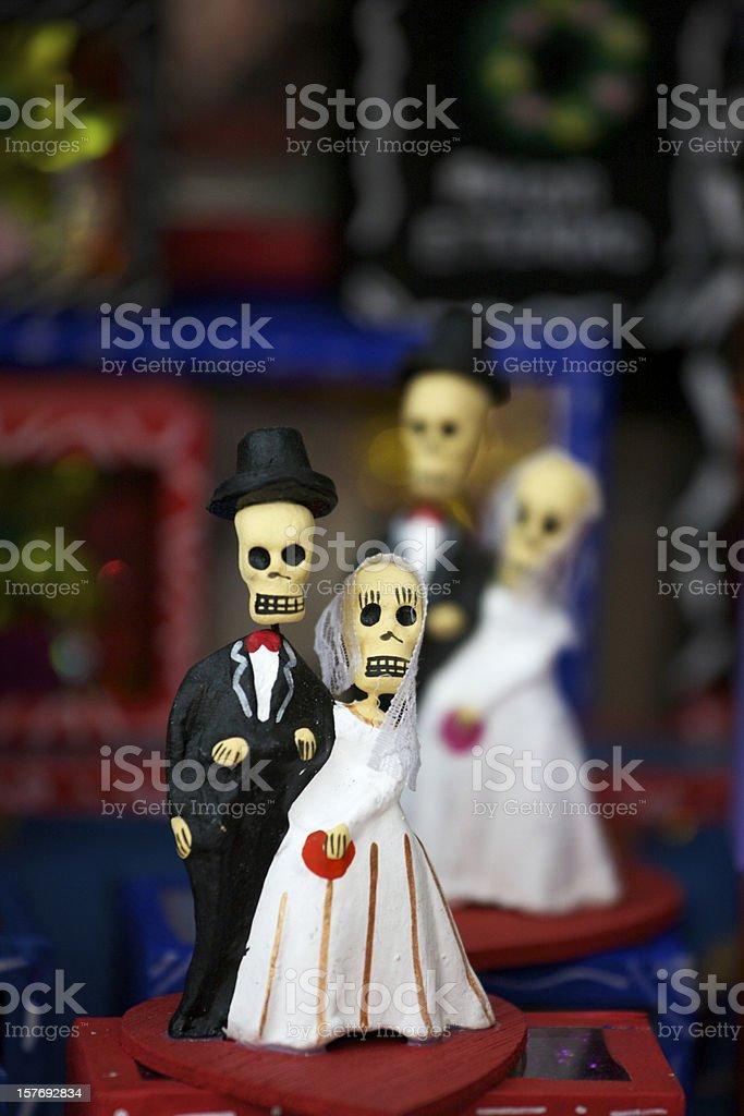 El Día de los Muertos, Day of the Dead, Mexico royalty-free stock photo