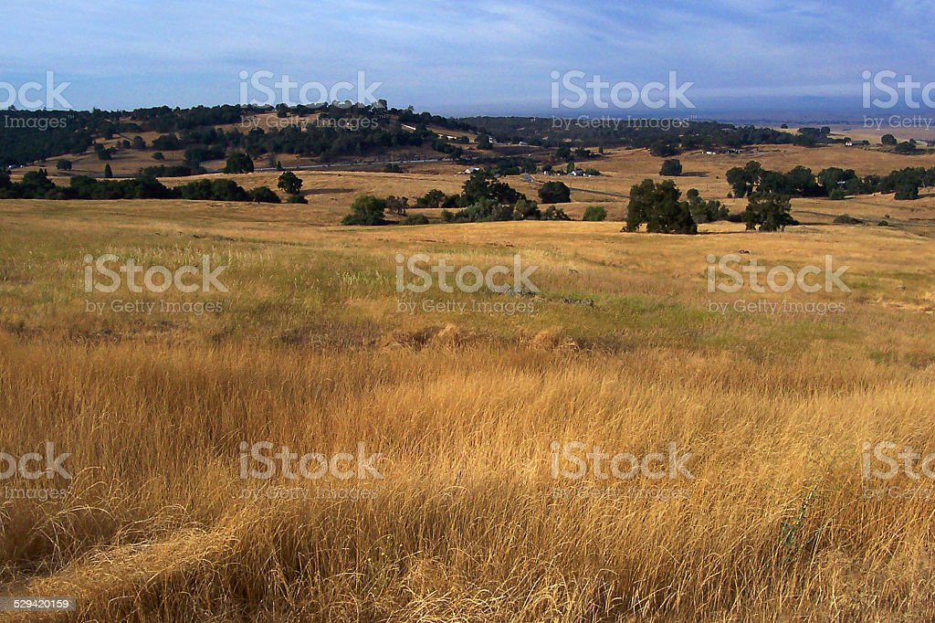 El Dorado Hills Landscape stock photo