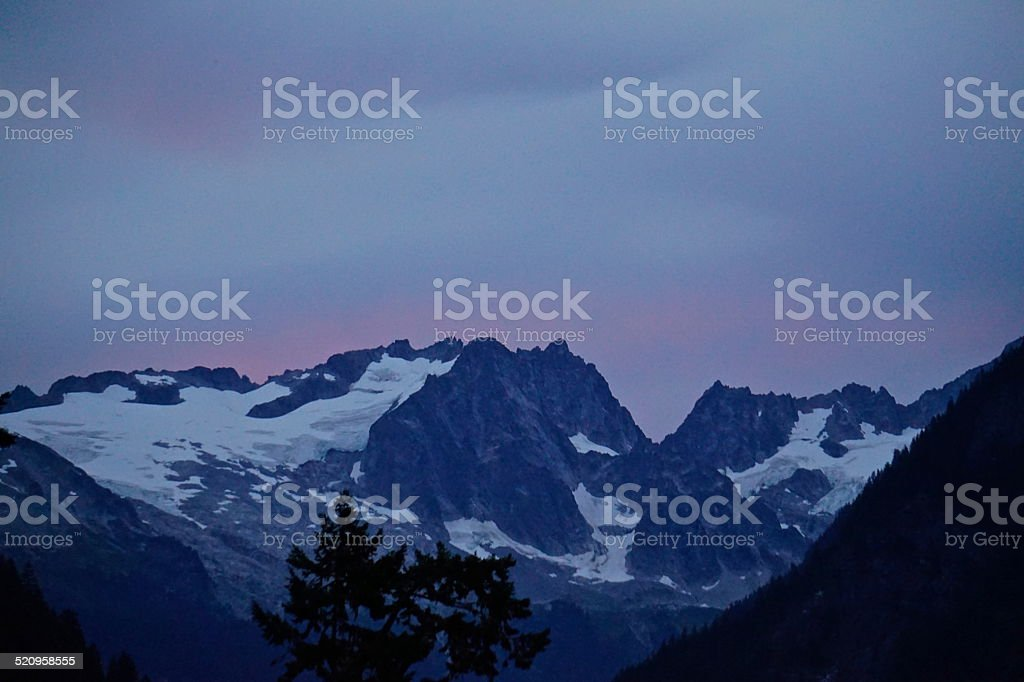 El Dorado Peak stock photo