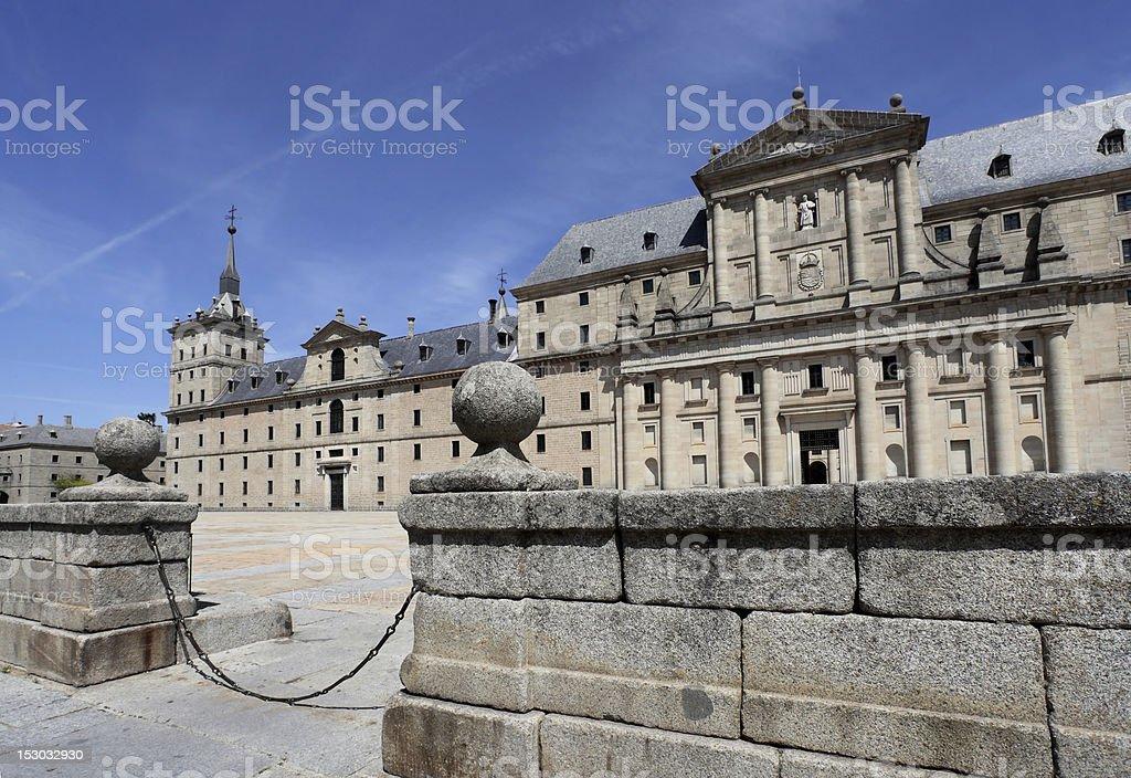 El Escorial. stock photo