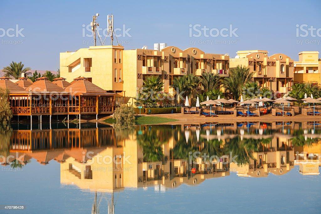 El Gouna. Egypt stock photo