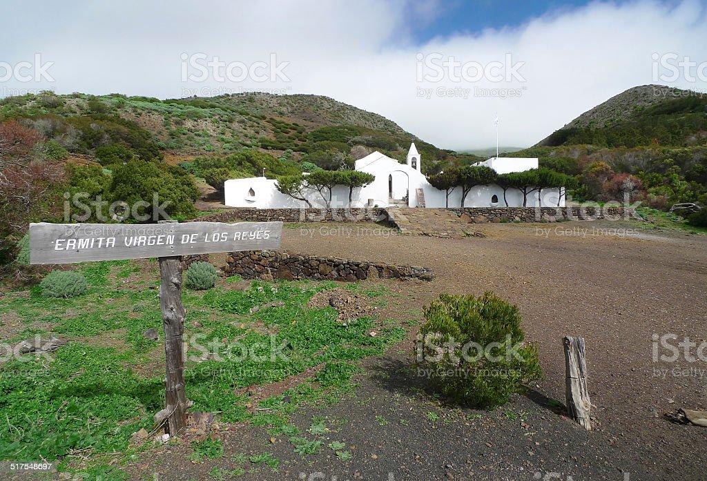 El Hierro - Ermita Virgen de Los Reyes royalty-free stock photo