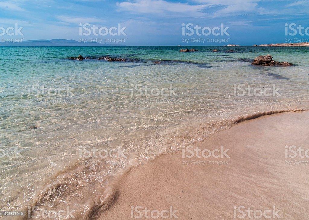 El mar de cortez stock photo
