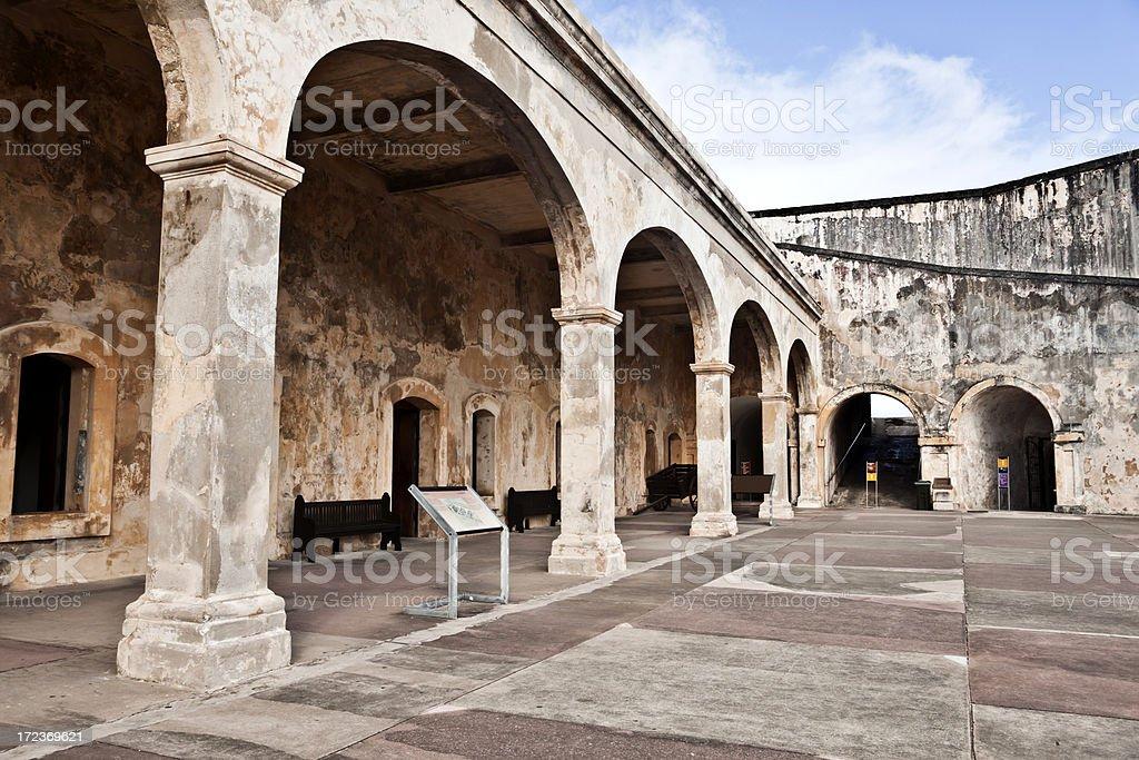El Morro Castle royalty-free stock photo