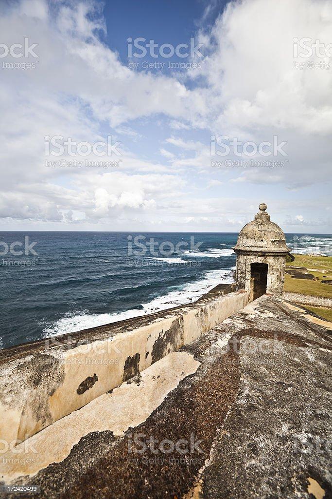 Castillo El Morro royalty-free stock photo