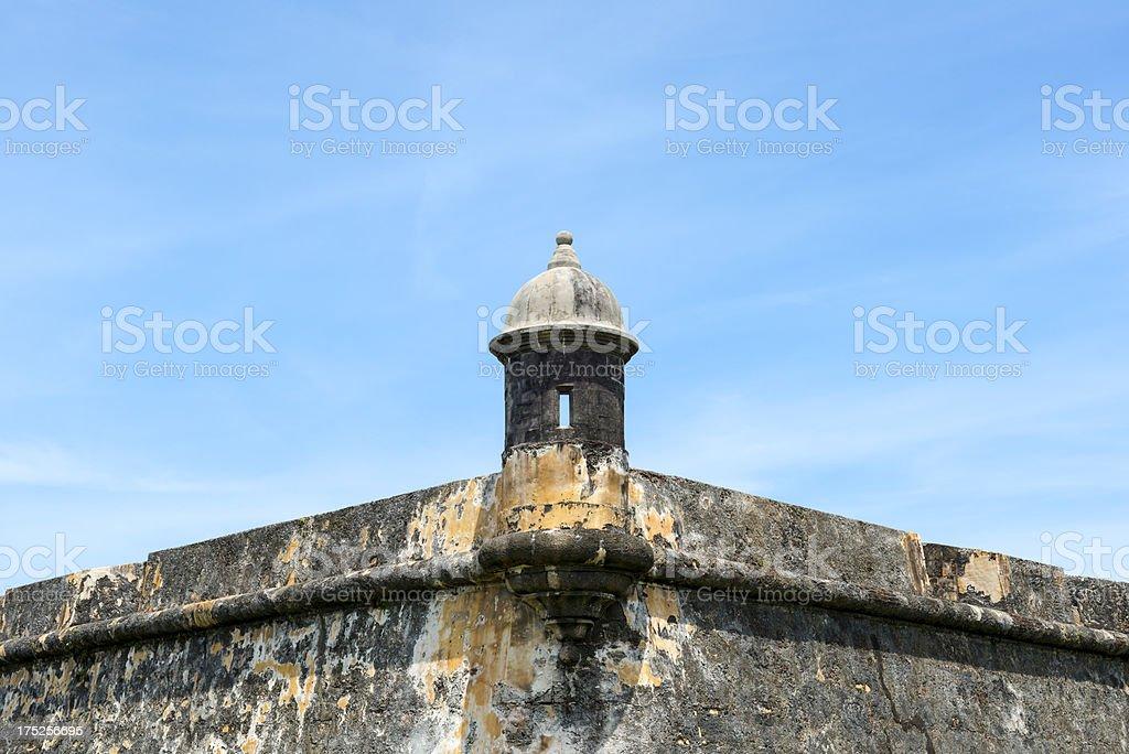 El Morro fort in San Juan, Puerto Rico stock photo