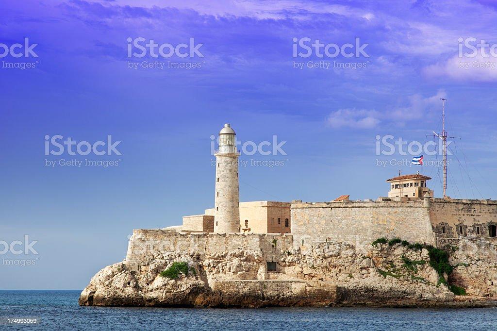 El Morro fortification in Habana stock photo