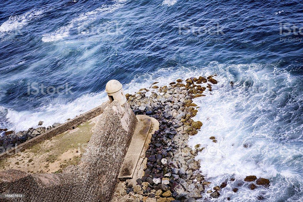 El Morro Fortress, Puerto Rico stock photo