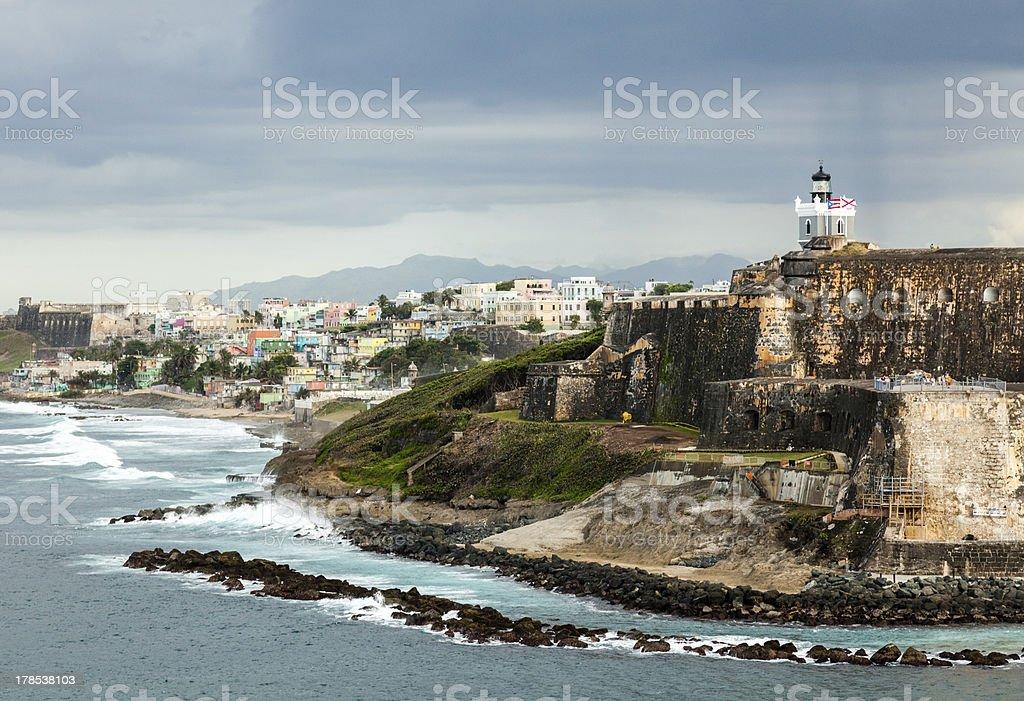 El Morro Fortress San Juan stock photo