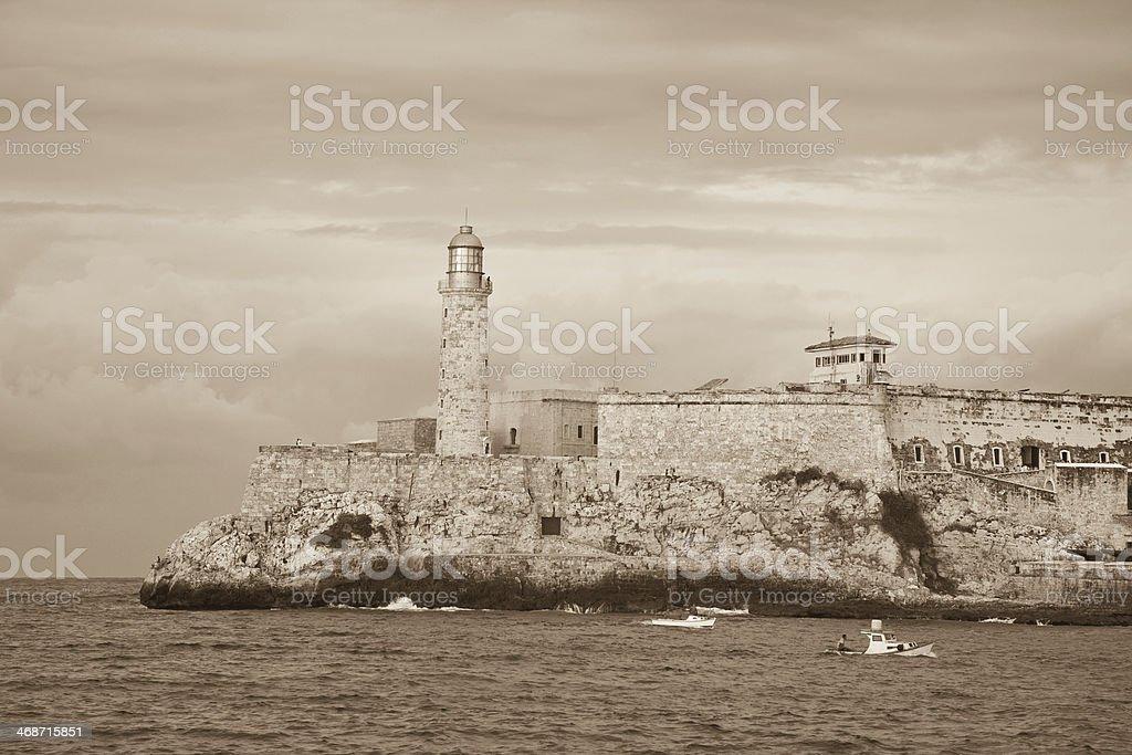 El Morro, Havana stock photo